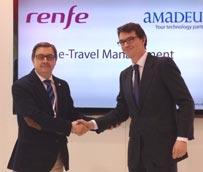 Amadeus e-Travel Management incorpora la oferta de Renfe para ofrecer la totalidad de opciones a los viajeros de empresa