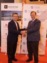 Grupo Cosentino potencia su presencia en el sector hotelero como nuevo socio colaborador de Cehat
