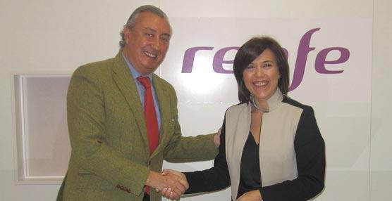 La ciudad de Huesca y Renfe promocionarán el Turismo de Reuniones y Eventos, así como la difusión de los servicios ferroviarios