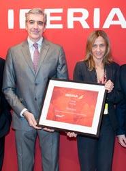 Iberia y Hotusa premian el trabajo del Grupo Bestours como 'mejor agencia de viajes'