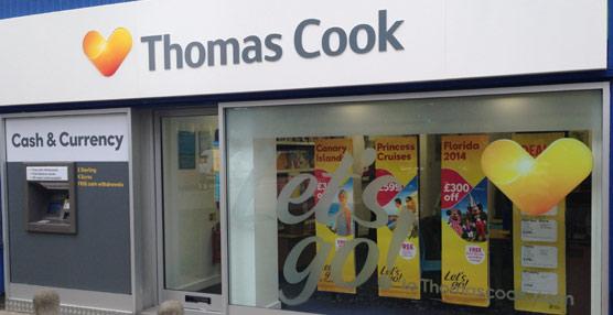 Thomas Cook registra unas pérdidas cercanas a los 233 millones de euros en 2013, un 37% menos que en el año anterior