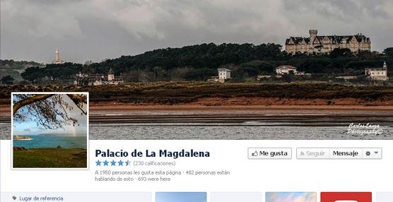 El Palacio de la Magdalena reforzará su presencia en redes sociales con la activación de Instagram y la dinamización de Youtube
