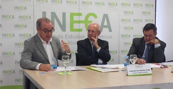 El presidente de Hosbec ofrece en Ineca una previsión optimista para el turismo de la Costa Blanca en 2014