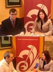 Castillo de San Luis y Bendita Ruina son los dos nuevos miembros de la Fundación Huesca Congresos