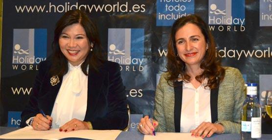 El complejo hotelero Holiday World entra en el mercado chino para potenciar su oferta para reuniones y eventos