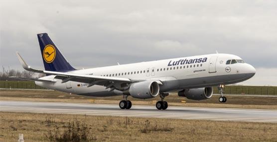 Lufthansa permite el uso de los dispositivos móviles 'puerta a puerta' en todos sus aviones Airbus