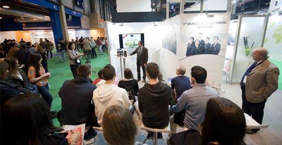 Vatel España atrae a más de 3.000 personas en su stand en Aula 2014 gracias a sus catas y clases de idiomas