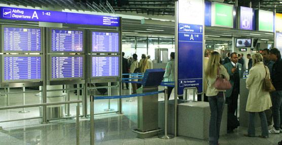 Las conexiones domésticas han perdido un 3,7% de viajeros, frente al avance del 2% de las internacionales.