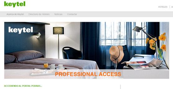 Keytel renueva su página 'web' con el objetivo de adaptarse a la demanda y las nuevas necesidades de las agencias