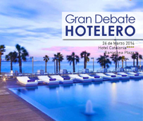 La franquicia hotelera y el marketing online centrarán el 'gran debate hotelero' del próximo 26 de marzo en Barcelona