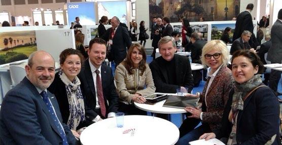 La Diputación de Cádiz consigue la captación de un congreso de agencias de viajes en su participación en la ITB de Berlín