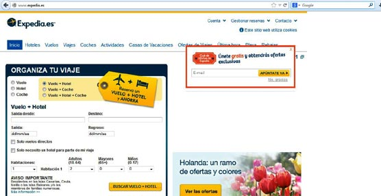 La demanda en forma de paquetes crece cerca de un 40% en la región de Costa Brava para el grupo Expedia