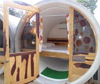 Los dueños de un albergue en Sevilla crean TuboTulum Hostel en México, basado en el concepto de 'tubohotel'