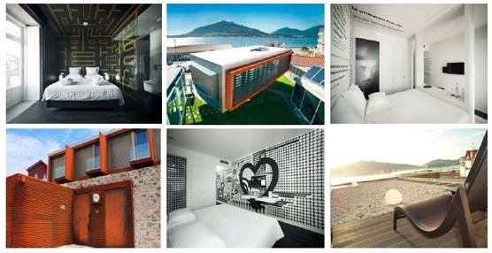 El hotel giratorio Design&Wine se transforma en una obra maestra del diseño tecnosostenible, del arte y el vino