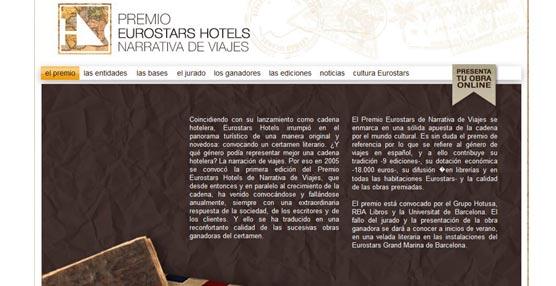 152 manuscritos recibe la convocatoria del X Premio Eurostars Hotels de Narrativa de Viajes, con récord de participación