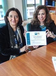 AFID Congresos recibe el diploma 'Comprometidos con la Sostenibilidad' en la organización de eventos