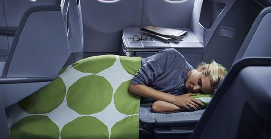 Finnair estrenará asientos totalmente abatibles en clase Business en nueve de sus rutas de larga distancia