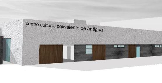 Una veintena de empresas optan a la adjudicación de las obras del Centro Cultural Polivalente de Antigua