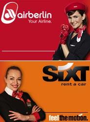 Los pasajeros de airberlin podrán seguir alquilando un coche Sixt con condiciones ventajosas