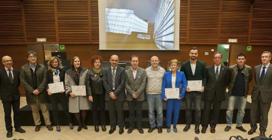 El Kursaal y el San Sebastián Turismo & Convention Bureau reconocen seis nuevos 'embajadores' de congresos en Guipúzcoa