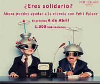 La cadena de hoteles Petit Palace dona 1.000 habitaciones el próximo 6 de abril para apoyar a la ciencia