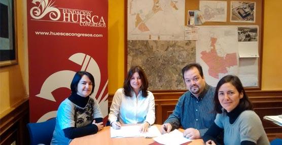 La Fundación Huesca Congresos incorpora a un nuevo socio y celebra un 'networking' entre asociados