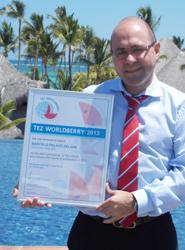 Distintos hoteles Barceló ubicados en el Caribe son reconocidos como los mejores del año en la Feria MITT