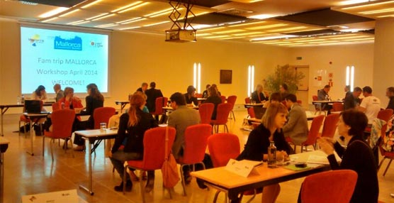 Numerosas empresas extranjeras conocen la oferta congresual y de incentivos de Mallorca en unas jornadas inversas de la ATB
