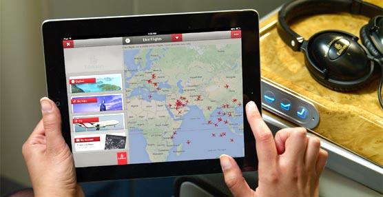Emirates lanza su nueva 'app' para iPad donde poder hacer reservas o descargarse la tarjeta de embarque