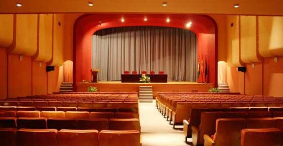 Aspecto actual del salón plenario del Palacio de Congresos de Córdoba.