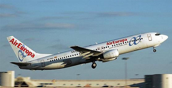 Air Europa fue la segunda compañía aérea más puntual del mundo en marzo, solo por detrás de Lufthansa