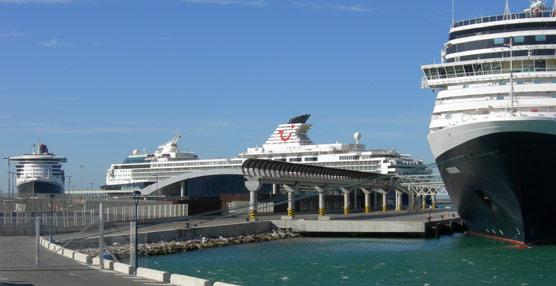Los puertos españoles reciben 384.000 pasajeros de cruceros en febrero, un 37% más que el año pasado