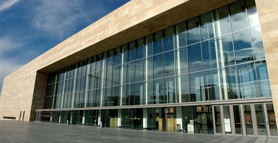 Entrada al Palacio de Congresos y Auditorio de La Rioja, Riojaforum.