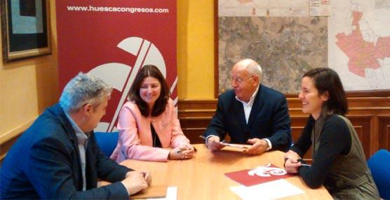 Cabrero e Hijos, especialista en distribución, se convierte en el socio número 67 de la Fundación Huesca Congresos