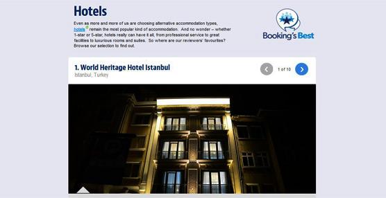 Booking.com revela las mejores propiedades del mundo basándose en las reseñas verificadas de clientes