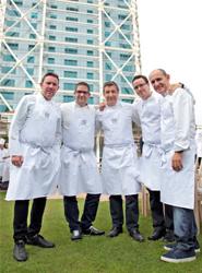 El Hotel Arts Barcelona celebra su 20 aniversario reuniendo 20 chefs Estrella Michelin en una cena en favor de Unicef