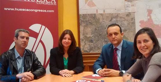 La Fundación Huesca Congresos incorpora a Urban Exclusivas, empresa especializada en publicidad exterior