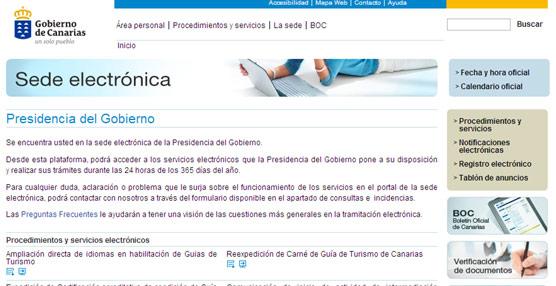 Canarias establece la tramitación electrónica obligatoria para el inicio, modificación o cese de las agencias de viajes