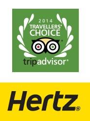 Hertz es reconocida como la compañía de 'rent a car' favorita para los usuarios de TripAdvisor en cinco países
