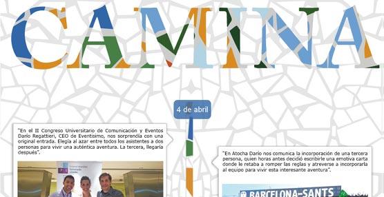 Nace 'Camina', la página 'web' del primer 'evento escuela' de la agencia Eventisimo