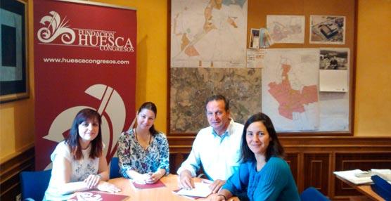 La Fundación Huesca Congresos sigue sumando nuevos socios con la incorporación de Casa Cavez y Floristería Albahaca