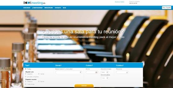 Bookmeeting, nueva plataforma de reservas 'online' de salas y 'paquetes' de reuniones en España y Portugal