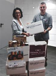 El Crowne Plaza Barcelona Fira Center colabora con una campaña de verano de la Fundación Banc dels Aliments