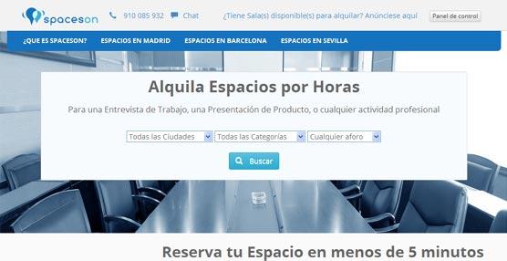 Nace una nueva plataforma 'online' que permite la reserva de espacios por horas para reuniones, eventos o acciones formativas