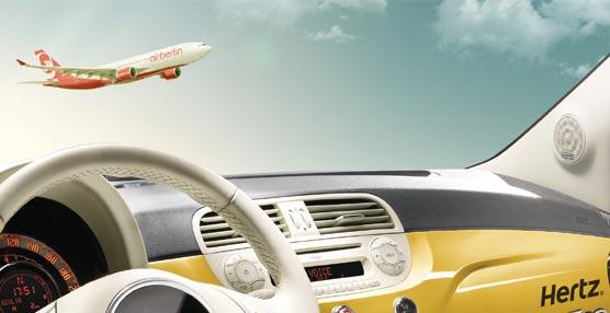 Hertz y Airberlin se unen para presentar ofertas exclusivas de vuelo y tarifas especiales de alquiler de coches