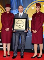 Qatar Airways recibe tres premios, incluido el de Mejor Clase Business del Mundo, en los Skytrax Awards 2014