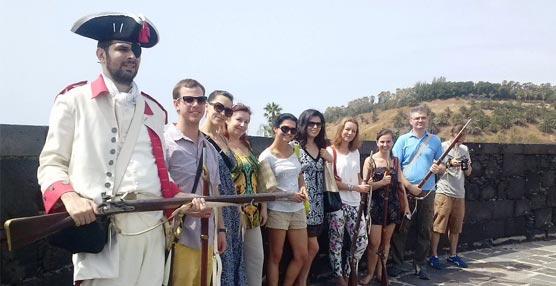 Un grupo de agentes de viajes polacos conocen la isla de Tenerife como destino de reuniones, congresos e incentivos