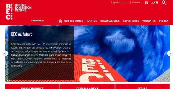 Bilbao Exhibition Centre crea una nueva página en Internet con nuevos contenidos y con un diseño más intuitivo y visual