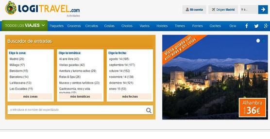Logitravel.com incorpora la venta de actividades de ocio, culturales y deportivas en España y Europa