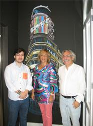 Ana Isabel Mariño, durante su visita a Room 007 Chueca.